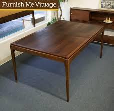 Lane Furniture Dining Room Lane Rhythm Mid Century Modern Dining Table