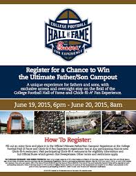 fil a fan experience register at fil a for a chance to win the ultimate father son