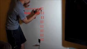 how to hide wires wall mount tv easy way to fish wires in wall u0026 locate studs youtube