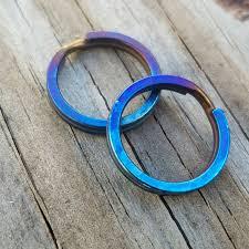titanium key rings images Titanium split rings tisurvival titanium jpg