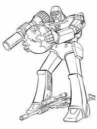 megatron coloring pages