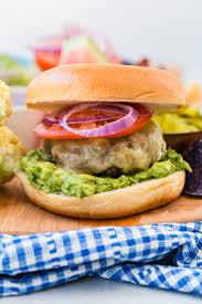 guacamole cheddar burger weelicious