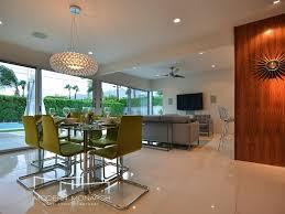 Bossanova Contemporary Leather Dining Room Modern Monarch A Mid Century Retreat Homeaway Desert Park