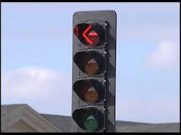 A Flashing Yellow Signal Light Means Flashing Yellow Arrow Left Turn Traffic Signals Youtube
