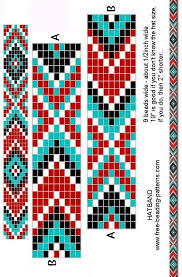 beading bracelet patterns images Free printable loom beading patterns loom beading bracelet jpg