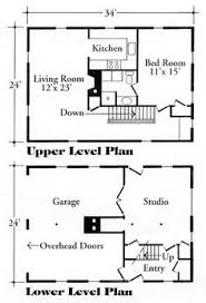 Garage Apartments Plans Hmm Build A Garage With An Apartment First And Modify To 3
