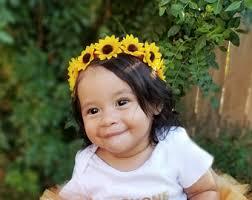 sunflower headband sunflower headband etsy