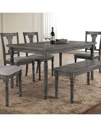 Acme Furniture Dining Room Set Surprise 57 Off Acme Furniture Wallace Weathered Gray Dining Table