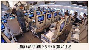 Boeing 777 Interior Review China Eastern Airlines New Economy Class On Boeing 777