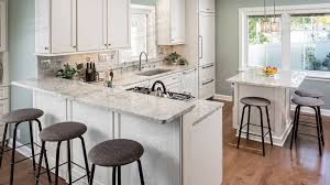 Backsplash For White Kitchens Granite Countertop Ikea White Cabinets Ceramic Subway Tile