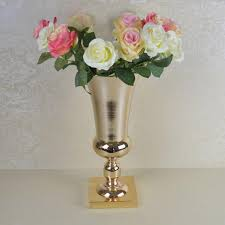 Gold Plastic Flower Vases Online Get Cheap Gold Pots Wedding Aliexpress Com Alibaba Group