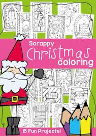 free christmas coloring pages frog spot