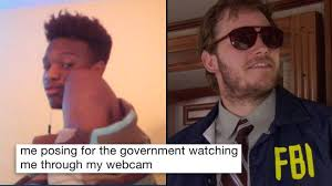 Laughing Man Meme - 17 memes about the fbi agent currently watching you through your