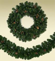 Wreaths Garlands Scottsdale Spruce Artificial Wreaths And Garland Treetime