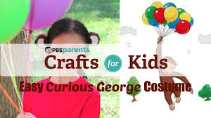 curious george halloween costume no sew curious george costume crafts for kids pbs parents