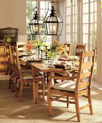 fixer upper dining table thanksgiving table centerpieces ideas orange wood modern dining