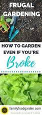 frugal gardening best ways to save money