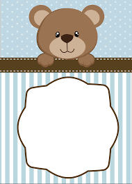 neutral teddy bear baby shower invitations baby s pinterest