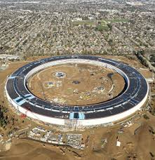 apple u0027s u0027spaceship u0027 campus is almost finished and these aerial