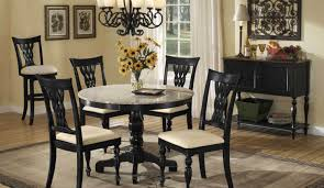 full image for circular dining table for 2 small round glass