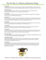 graduation menu creative cuisine catering