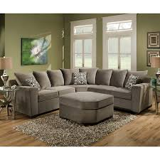 Bespoke Leather Sofas by Simmons Upholstery Roxanne Sectional U0026 Reviews Wayfair Living