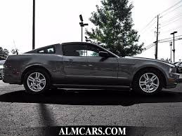 2014 Black Ford Mustang 2014 Used Ford Mustang 2dr Coupe V6 Premium At Alm Gwinnett