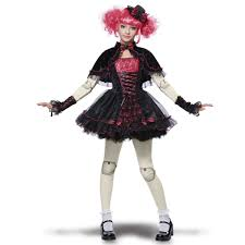 Scary Baby Doll Halloween Costume Tween Victorian Doll Costume Buycostumes