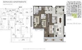 3 bedroom flat plan drawing entisar tower 3 bedroom apartment unit 1 floor plan