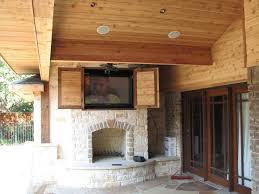 Outdoor Entertainment Center - remodeling 32 backyard tv ideas on outdoor tv enclosure ideas