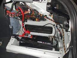 bmw 520i battery location bmw 5 series where is the battery and fuse box located auto