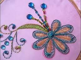 Flower Designs For Embroidery Hand Embroidery Designs Hand Embroidery For Dress Stitch And