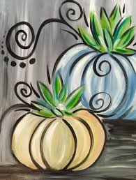 Thanksgiving Window Paintings Pumpkin Painting With Tissue Paper Diy Rocks Pinterest