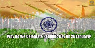 why do we celebrate republic day on 26 january all india word