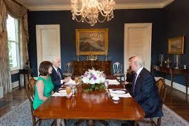 trump white house residence inside homes the vice president s residence washington life magazine