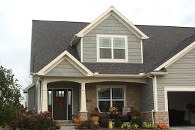craftsman style house weathered wood roof mastic scottisth thistle