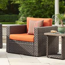 Patio Chairs With Cushions Choose Vibrant Patio Chair Cushion Tcg