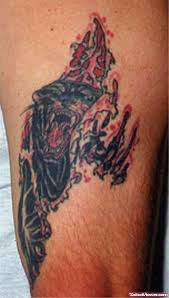 attractive ripped skin panther on sleeve viewer com