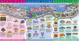 Florida Map Orlando by Theme Park Brochures Downtown Disney Theme Park Brochures
