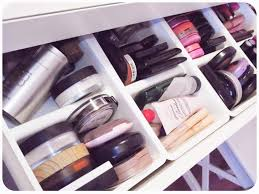 Ikea Desk Drawer Organizer by My Makeup Obsession My Dressing Table Setup The Ikea Malm