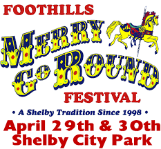 foothills merry go festival city of shelby