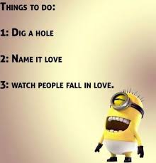 In Love Memes - 30 minions love quotes funny minions memes