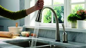 touchless kitchen faucets practicality touchless kitchen faucet