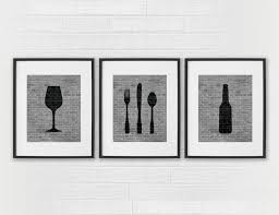 Dining Room Wall Art Decor by Dining Room Printable Art With Kitchen Signs Dining Room Decor