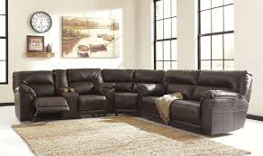 Benchcraft Leather Sofa by Benchcraft Barrettsville Durablend 47301 Sectional Sofa With 2