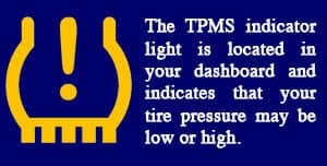 tyre pressure monitor warning light tpms tire pressure monitoring system safford cjdr of winchester