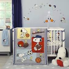 Snoopy Crib Bedding Bedtime Originals Snoopy Sports 3 Crib Bedding Set