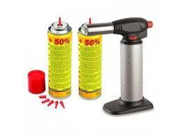 chalumeau pour cuisine chalumeau de cuisine professionnel 2 recharges gaz micro torche