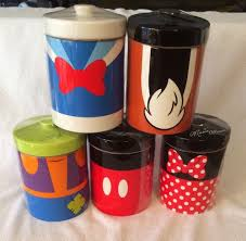 mickey mouse friends canister set disney parks cookie storage mickey mouse friends canister set disney parks cookie storage jar minnie goof ebay