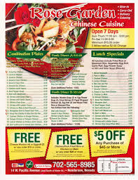 family garden chinese rose garden menu menu for rose garden henderson las vegas